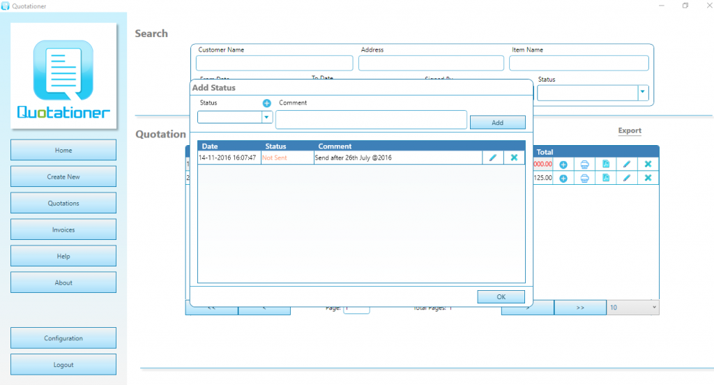invoice tracking
