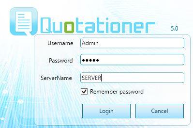 Quotationer-client-server