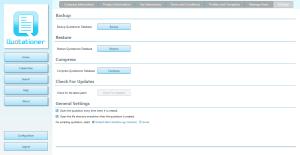 Backup And Restore Data - Quotationer